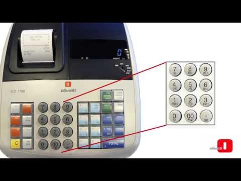 OLIVETTI ECR 7700   7700 LD   ECR 6800   6800 LD Programación Basica Registradoras Olivetti2