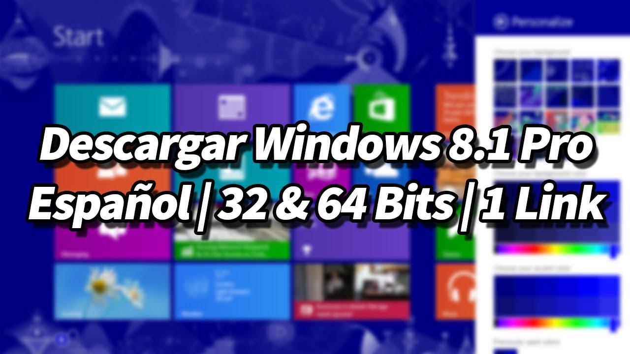 descargar windows 8 32 bits español