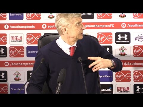 Arsene Wenger Full Pre-match Press Conference - Stoke City v Arsenal