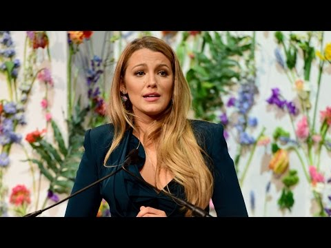 Thumbnail: Blake Lively Gives Emotional Speech on Child Pornography