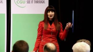 Futurist Shara Evans | CGU Benchmark Awards - Disruptive Technologies: New Ways of Managing Risk