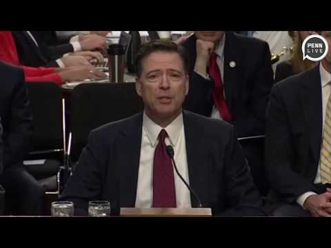Donald Trump calls fired FBI director James Comey an 'untruthful slime ball'