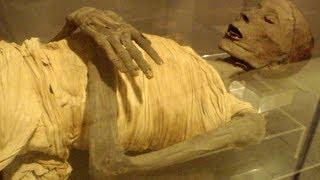 Moving Egyptian Mummy Statue Caught on Camera.