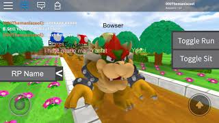 Mario:It's a me Mario! Super Mario Roleplay! Bowser:Hehehehe