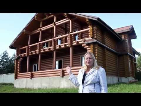 Купить коттедж  на Новорижском шоссе.  Деревянный дом в поселке у пруда. Деревня  Палицы