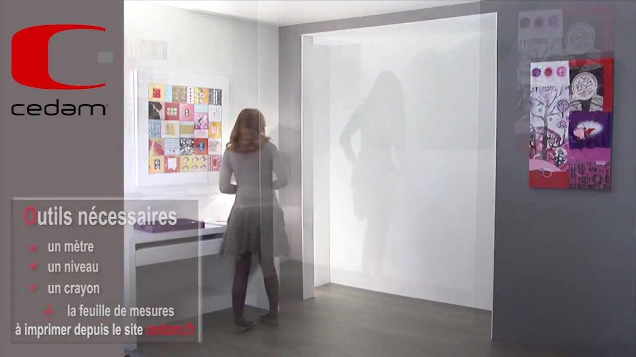 prendre ses cotes avant de poser une porte coulissante. Black Bedroom Furniture Sets. Home Design Ideas