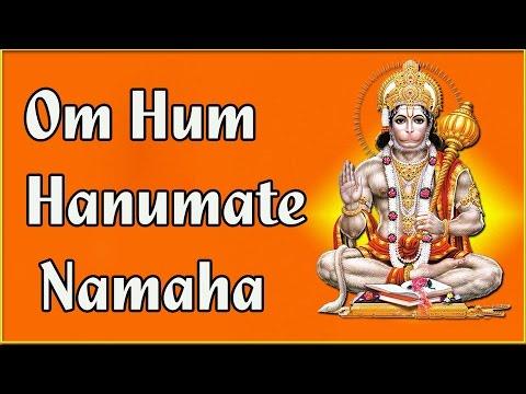 "Mantra ""Om Hum Hanumate Namaha""__ॐ हुं हनुमते नमः || Most Powerful Hanuman Mantra || 108 Times"