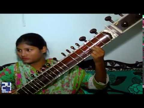 Youngest sitar player girl of Pakistani rocked the nation name