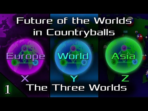Future of the Worlds in Countryballs (The Three Worlds): Episode 1: Entering Dream World