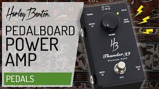 Harley Benton - Thunder 99 - Stereo - Poweramp - pedal -