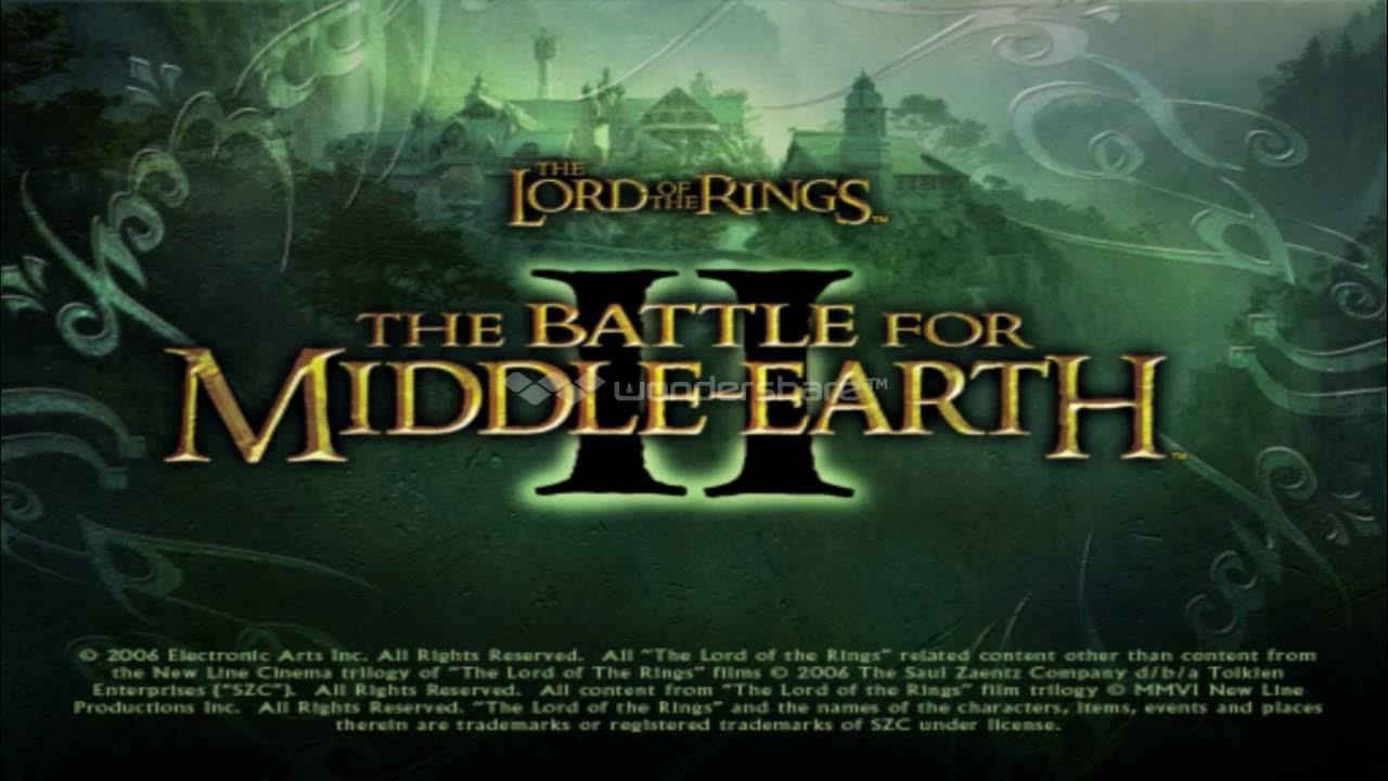 Game patches: the lord of the rings: the battle for middle-earth.