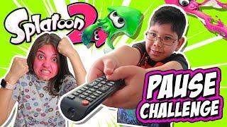 SPLATOON 2 PAUSE CHALLENGE en Abrelo Game con Karla y Manuel