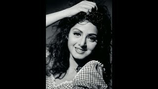 Sridevi Charcoal Sketch │ Tribute to Sridevi │ Bollywood Actress