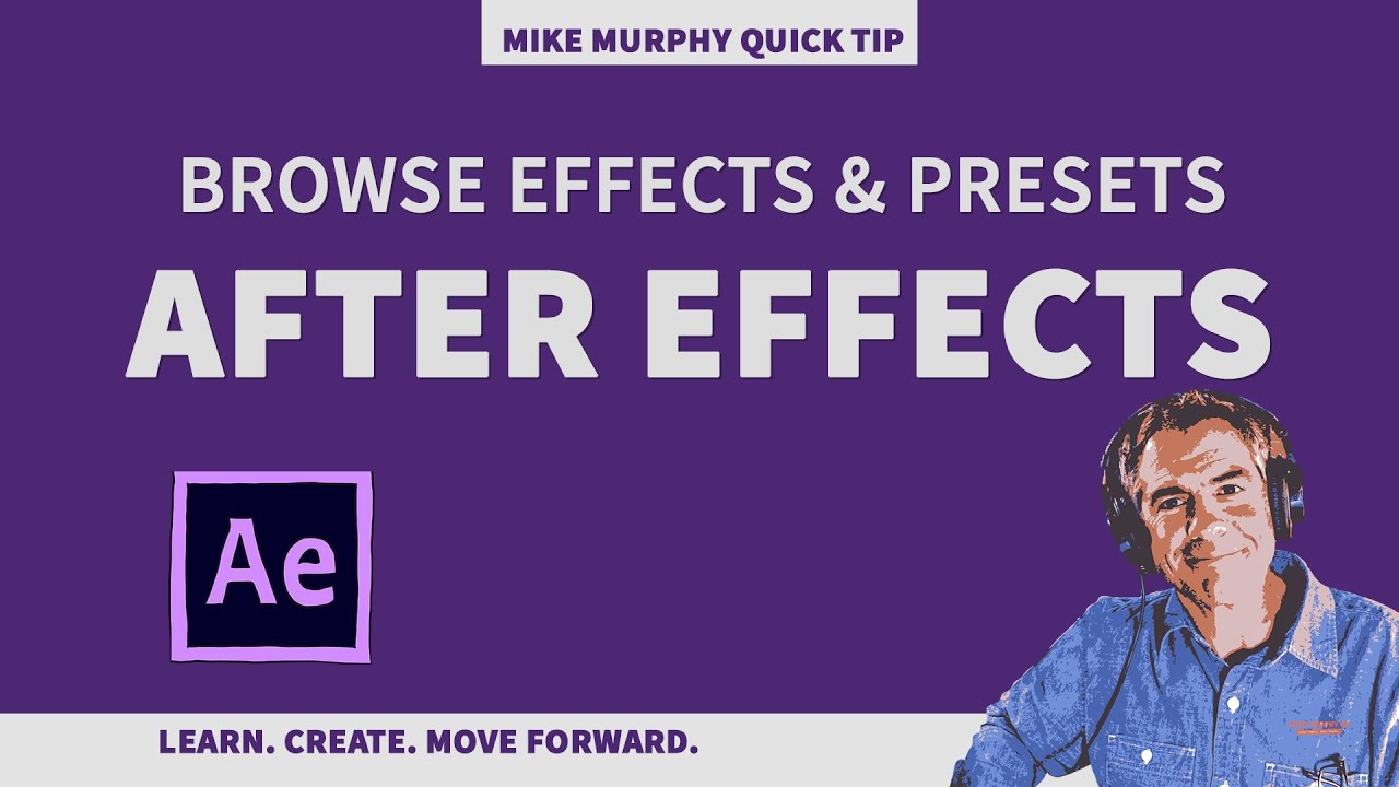 Quick Tip: Browse Effects & Presets in Adobe After Effects