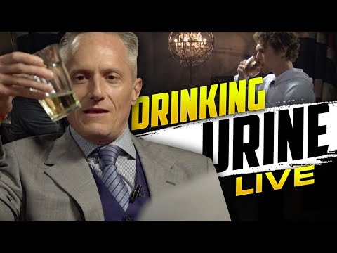 BRIAN ROSE AND TIM SHIEFF DRINKING THEIR URINE LIVE ON LONDON REAL