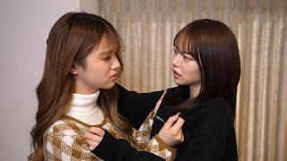 中町兄妹と撮影してたら女同士の喧嘩が始まりました...