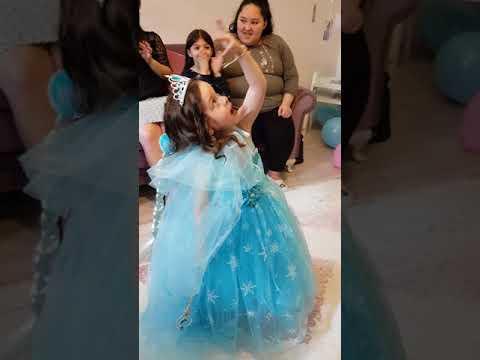 Mix Elsa konsepti doğum günü