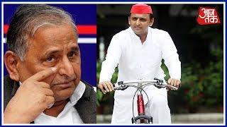 Khabardaar: Mulayam Loses Cycle War, Symbol Goes To Son Akhilesh