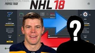NHL 18 - STASTNY TO WINNIPEG TRADE SIMULATION