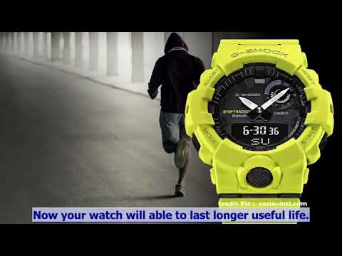Ep2. How to clean up your G-Shock after workout and tips for dry up moist out off watch!!! (ENG)