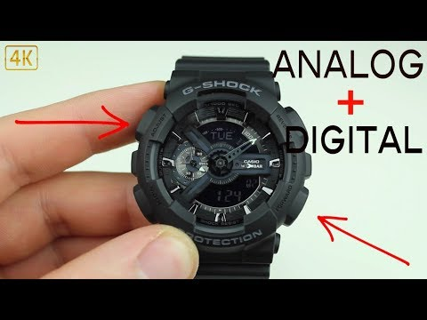 How To Change The Time On A G-Shock(Analog-Digital)[4k]