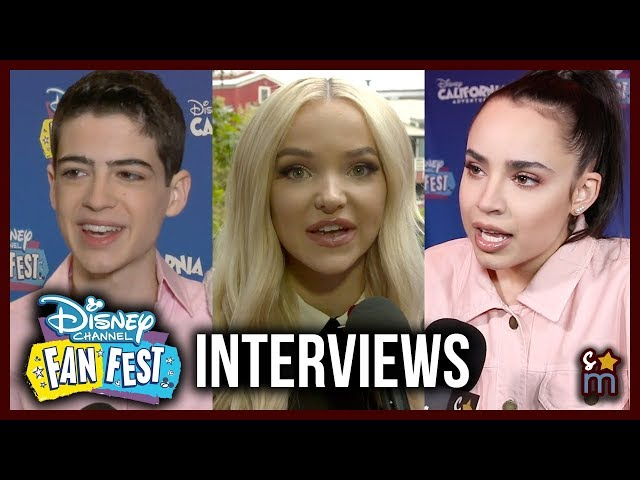 Disney Stars Share Favorite Fan Moments at Disney Channel Fan Fest 2019 - Descendants, Zombies