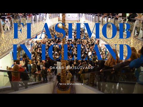 Flashmob in Iceland - Okkar Ríkisútvarp