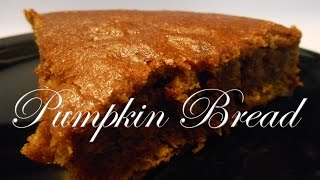 High Carb Vegan Pumpkin Bread Recipe!