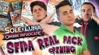 GLI STARTER SI SFIDANO! Real Pack Opening Pokémon Ombre Infuocate w/ federic95ita e Dlarzz