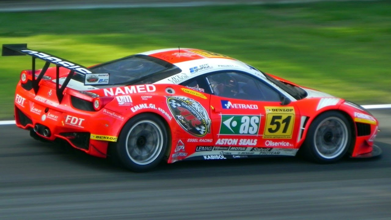 Ferrari 458 Italia Gt3 Sound On The Track Gt Sprint