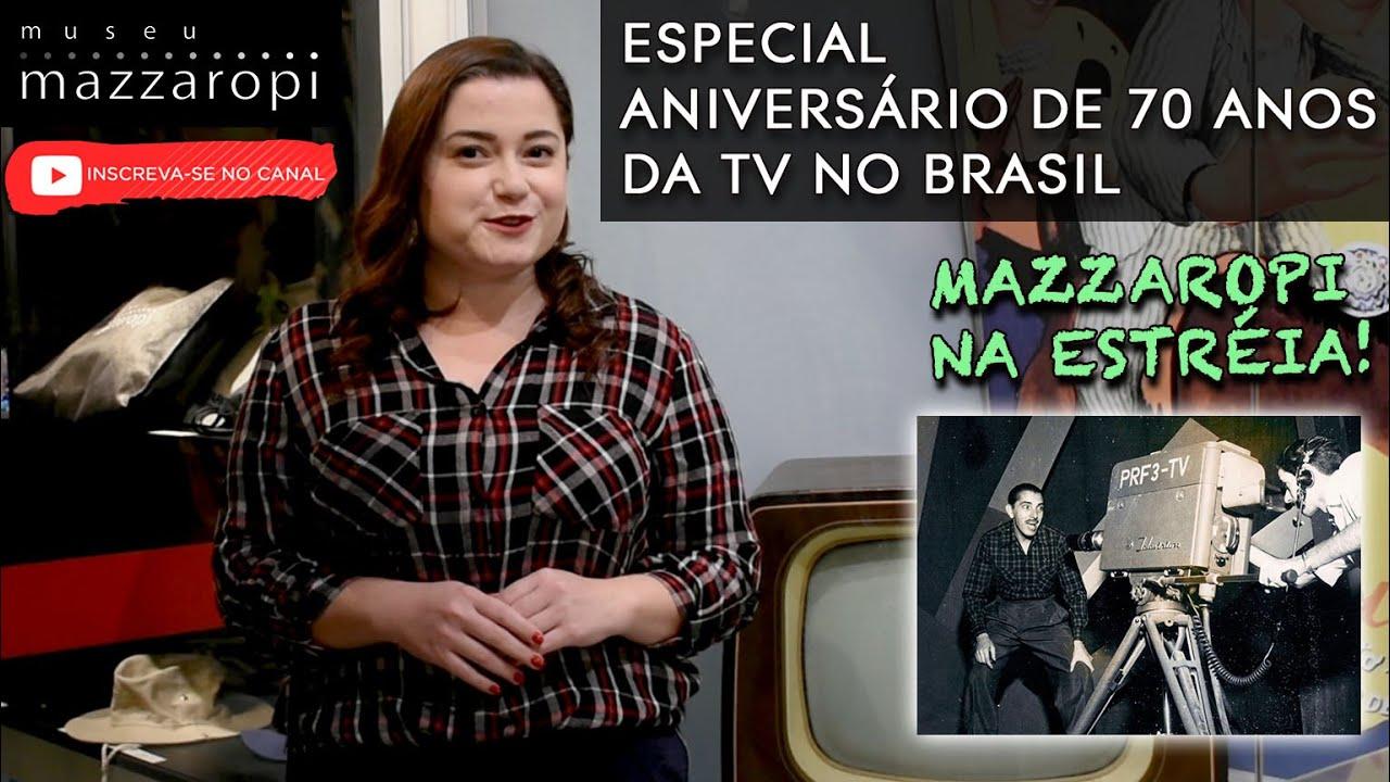 Histórias no Museu - O aniversário de 70 anos da TV no Brasil! #09