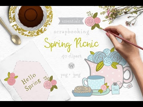 spring-picnic-clip-art-pack---hand-drawn-whimsical-clipart
