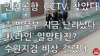 인천공항 CCTV에 딱 걸린 그날! 법무부를 움직인 윗…