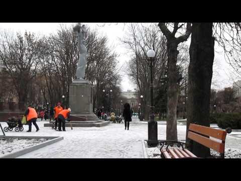 Soldier Monument Kremenchug tableau