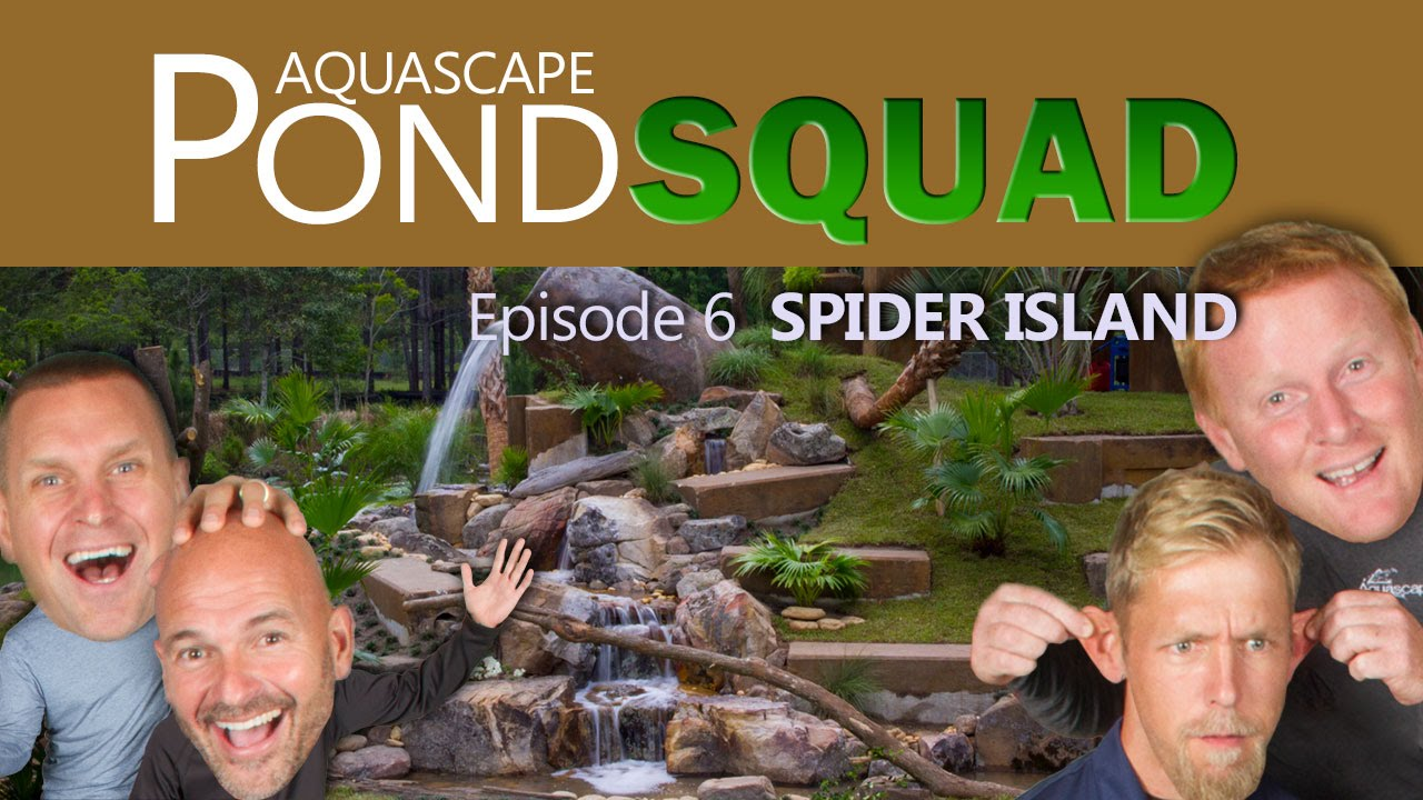 Aquascape Pond Squad - Monkey Island Waterfall & Stream - Episode 6