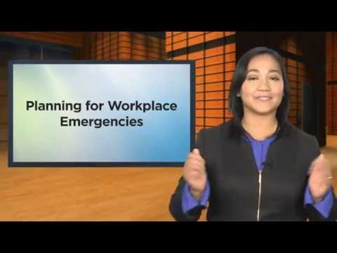 Planning for Workplace Emergencies