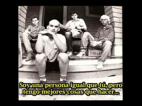 Minor Threat Straight Edge (subtitulado español)