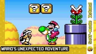 Mario's Unexpected Adventure • Super Mario World ROM Hack (SNES/Super Nintendo)