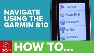 How to navigate using a Garmin 810 thumbnail