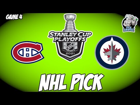 Winnipeg Jets vs Montreal Canadiens 6/7/21 Free NHL Pick and Prediction NHL Betting Tips