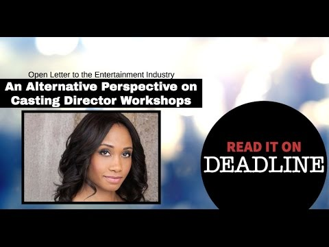 An Open Letter To The Entertainment Industry (On Deadline Hollywood)   Ajarae Coleman