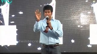 Sivakarthikeyan best funny speech on his 1st Award for WeMagazine