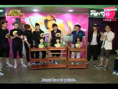 [TIME2SUB] 090609 MBC The Flower Boy Generation - 2PM 3/3