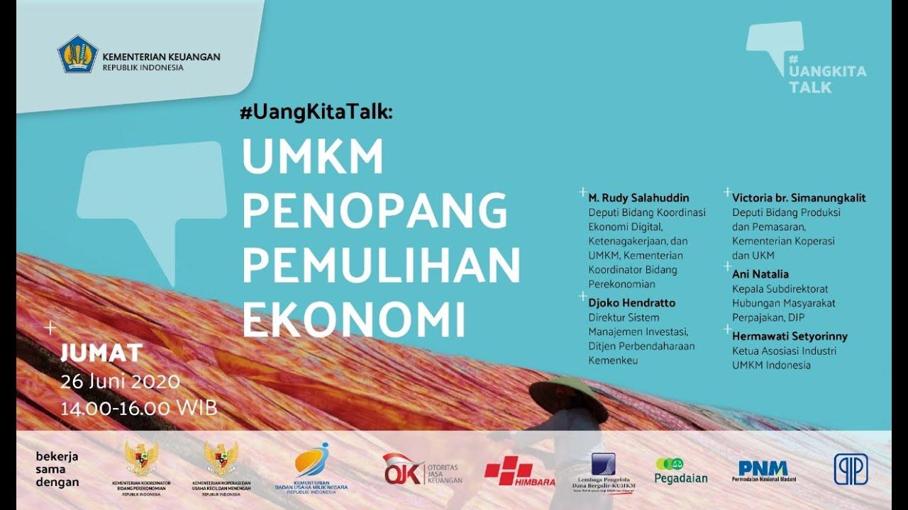 [EVENT] #UangKita Talk: UMKM Penopang Pemulihan Ekonomi