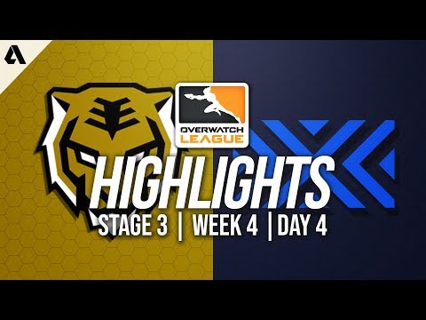 Seoul Dynasty vs New York Excelsior   Overwatch League Highlights OWL Stage 3 Week 4 Day 4