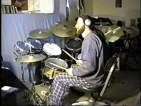 Irish Jesus Attempts 2112 Drum Cover Neil Peart Crap Kit