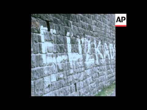 SYND 2/12/70 FILE FOOTAGE OF BASQUE SEPARATISTS AND THE BASQUE REGION