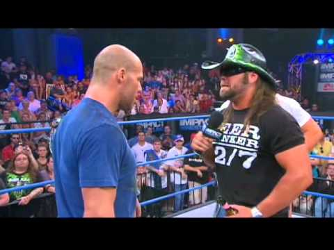 James Storm Challenges World Champion Kurt Angle