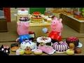 Peppa Pig Vídeos 🍰  La Pastelería Y El Pastel De Dinosaurio De Chocolate - Juguetes De Peppa Pig video