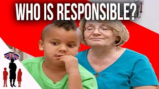 Supernanny Furious At Mom's Irresponsibility - Hellenbeck Fam. Prt 3 Full Ep | Supernanny USA